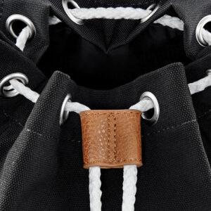 must vintage stiilis seljakott