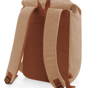 hele pruun vintage stiilis seljakott
